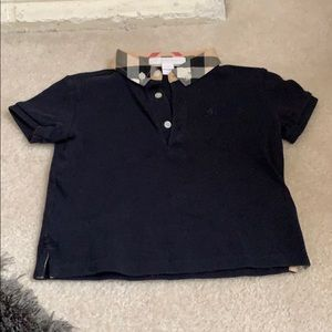 Kids Burberry polo